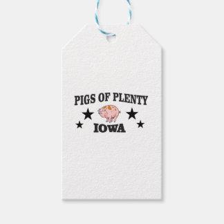 Étiquettes-cadeau pp Iowa