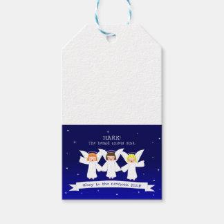 Étiquettes-cadeau Prêtez l'oreille ! Les anges de The Herald