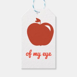 Étiquettes-cadeau Prunelle de mon oeil vendent