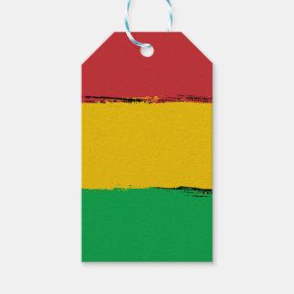 Étiquettes-cadeau Rasta