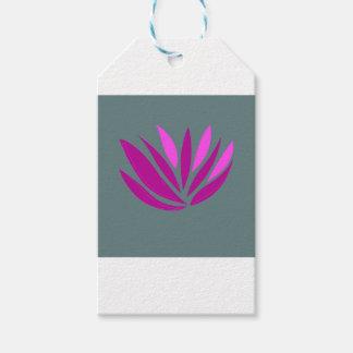 Étiquettes-cadeau Rose de mandala de santé, édition d'ethno de jpg
