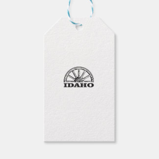 Étiquettes-cadeau Roues de l'Idaho