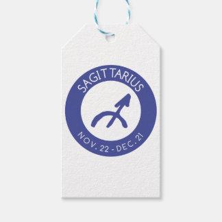 Étiquettes-cadeau Sagittaire