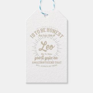 Étiquettes-cadeau Saison de Lion