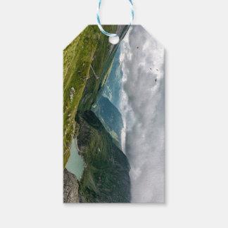 Étiquettes-cadeau Sec de vallée de Grossglockner