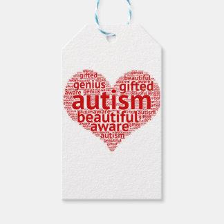Étiquettes-cadeau Sensibilisation sur l'autisme