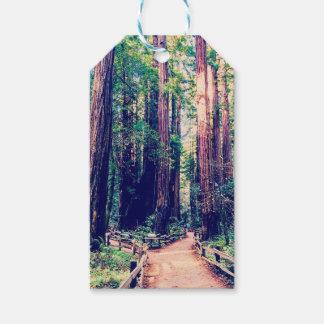 Étiquettes-cadeau Séquoias de Californie