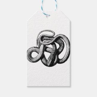 Étiquettes-cadeau Serpent tordu