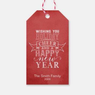 Étiquettes-cadeau Souhaitez-vous l'acclamation | de vacances