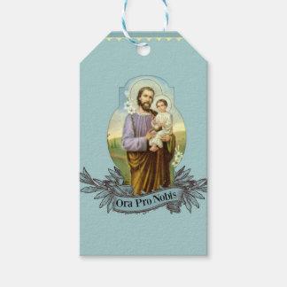 Étiquettes-cadeau St Joseph jour de fête 19 mars