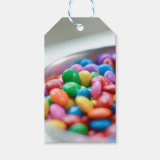 Étiquettes-cadeau sucrerie colorée