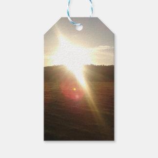 Étiquettes-cadeau Sun d'or 3