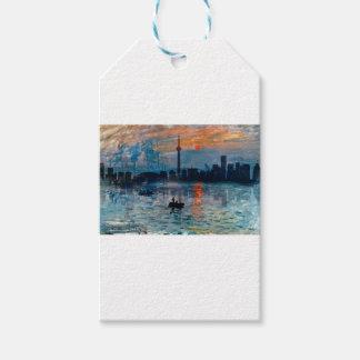 Étiquettes-cadeau Toronto Skyline40