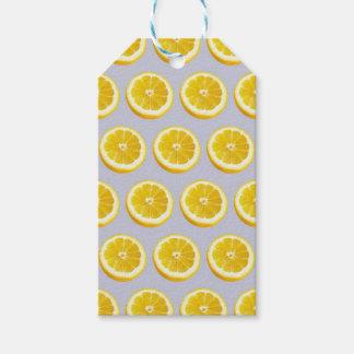 Étiquettes-cadeau Torsion de citron