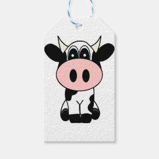 Étiquettes-cadeau Vache mignonne
