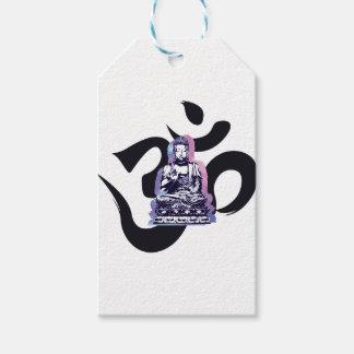 Étiquettes-cadeau vague 3 de Bouddha