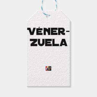 Étiquettes-cadeau VÉNER-ZUELA - Jeux de mots - Francois Ville