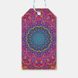 Étiquettes-cadeau Version A de couleur du mandala 7