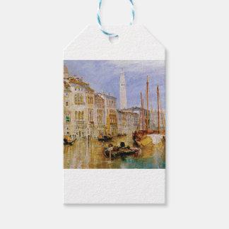 Étiquettes-cadeau vieille ville Venise