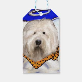 Étiquettes-cadeau Vieux chien de moutons anglais