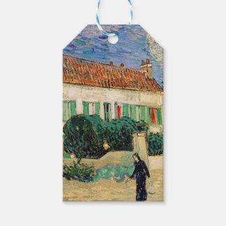 Étiquettes-cadeau Vincent van Gogh - la Maison Blanche à