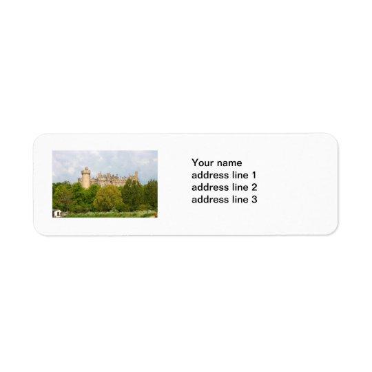 Étiquettes de adresse de coutume de photo de