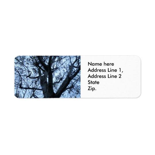 Étiquettes de adresse de coutume de photographie