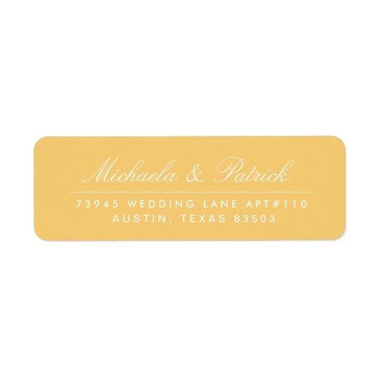Étiquettes de adresse de gris de jaune et de