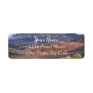 Étiquettes de adresse de Haleakala