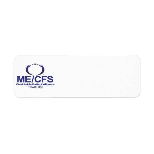Étiquettes de adresse de MCWPA