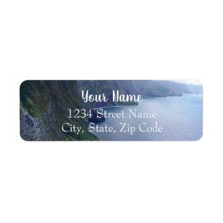 Étiquettes de adresse de Molokai
