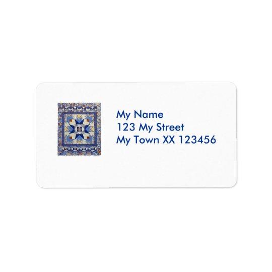Étiquettes de adresse de Quilty
