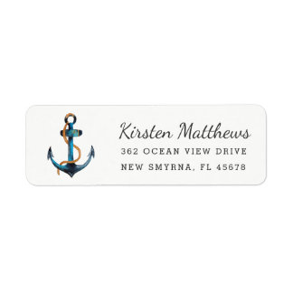 Étiquettes de adresse de retour d'ancre