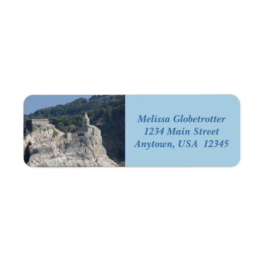 Étiquettes de adresse--Église d'île de roche
