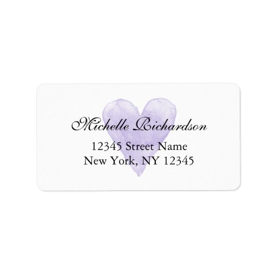 Étiquettes de adresse élégants personnalisés de
