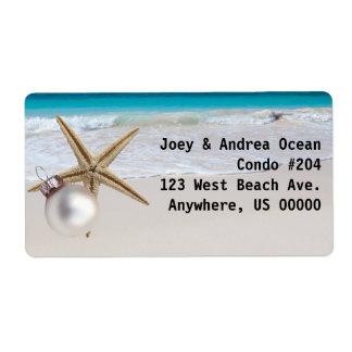 Étiquettes de adresse faits sur commande de étiquette d'expédition