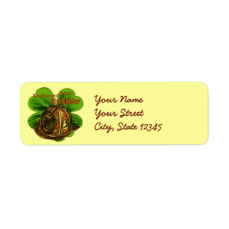 Étiquettes de adresse irlandais consacrés de