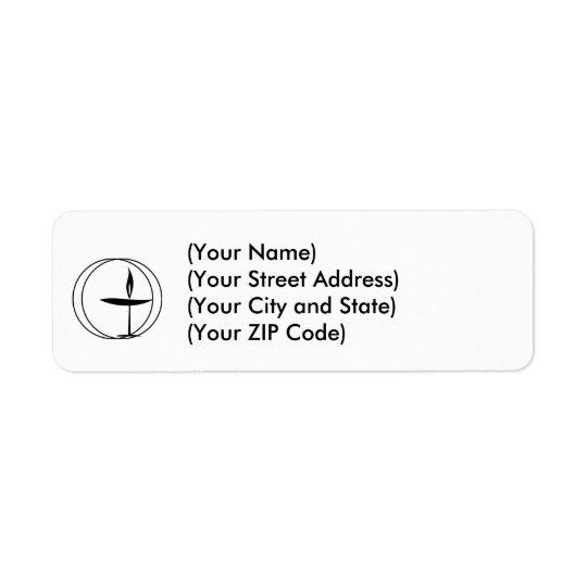 Étiquettes de adresse unitariens !