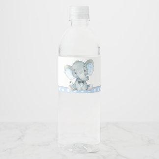 Étiquettes de bouteille d'eau de baby shower