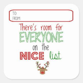 Étiquettes de cadeau d'ami