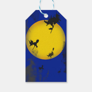 Étiquettes de cadeau de sorcières de Halloween