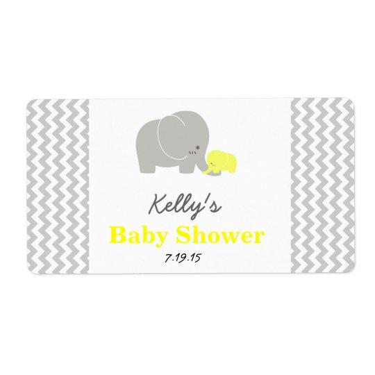 Étiquettes de faveur personnalisés par baby shower