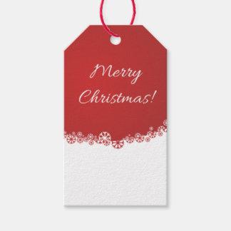 Étiquettes de Joyeux Noël