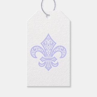 Étiquettes de Lavender Fleur de Lis Gift