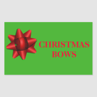 Étiquettes de organisation de Noël - arcs