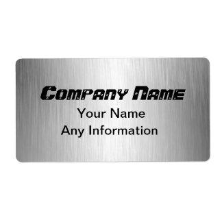 Étiquettes d'expédition balayés d'adresse de
