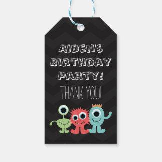 Étiquettes orientées de fête d'anniversaire de
