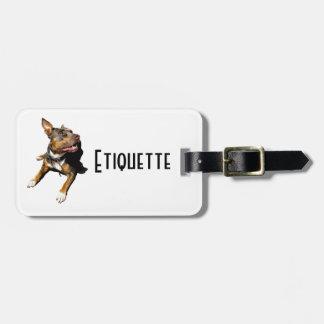 Etiquettes personnalisable - Design Jaïka Étiquette Pour Bagages