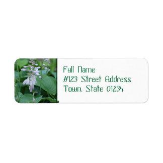 Étiquettes postales d'adresse de retour d'usine de