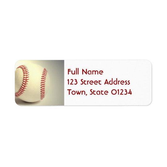 Étiquettes postales de base-ball